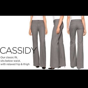 The Limited Cassidy Pant in Charcoal Gray